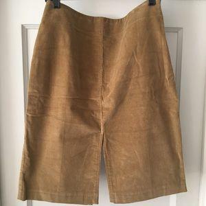 J. Crew Cotton Stretch Corduroy Pencil Skirt